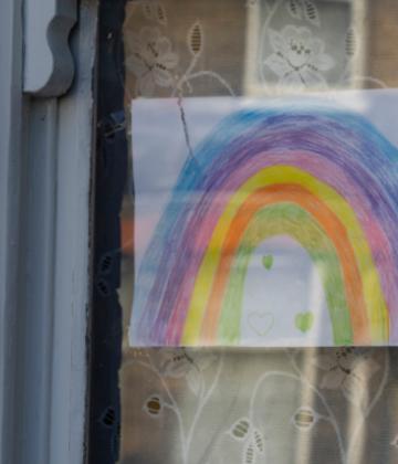 NHS rainbow image