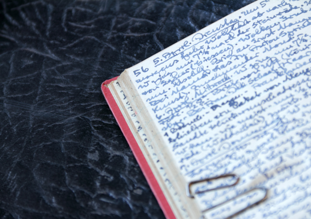 Image of a diary