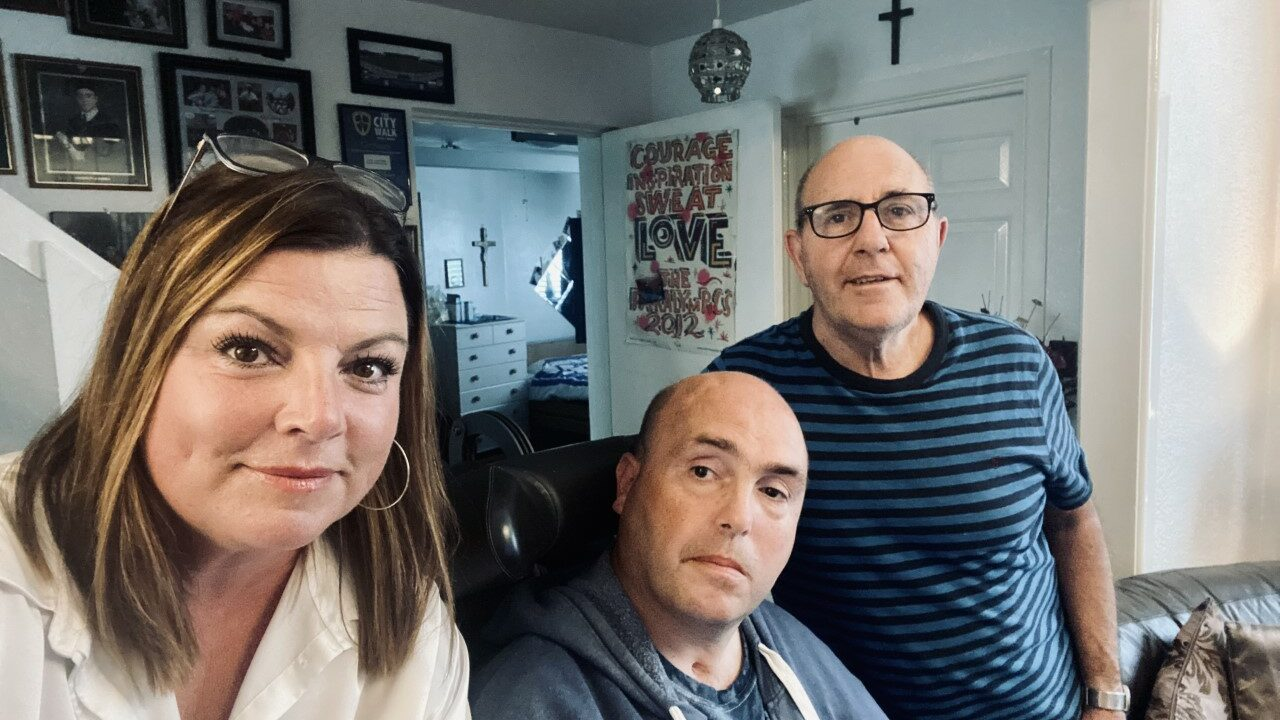 Photo of Matthew, Bernie and Gary